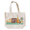 BROOKLYN CITYSCAPE TOTE BAG
