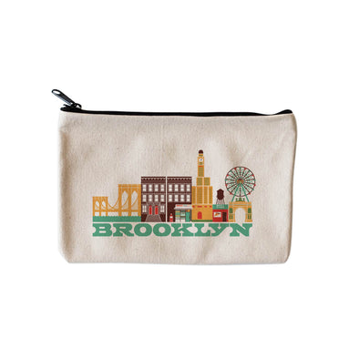 BROOKLYN CITYSCAPE POUCH