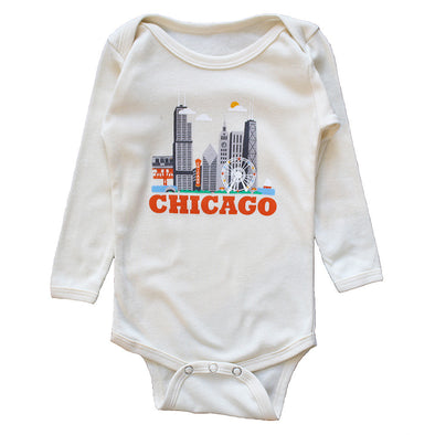 Chicago One Piece Baby