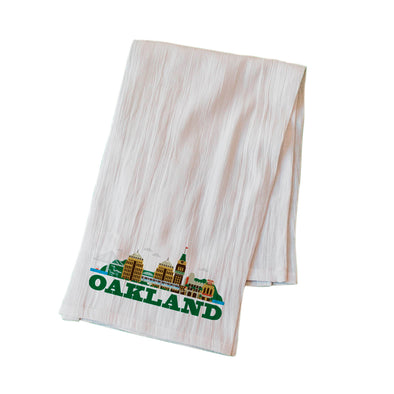 CITYSCAPE OAKLAND FLOUR SACK KITCHEN TOWEL