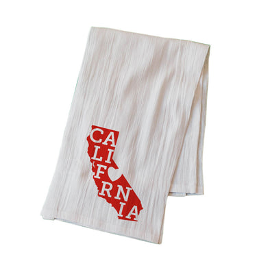 CALIFORNIA LOVE FLOUR SACK KITCHEN TOWEL