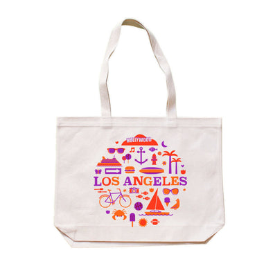 (CHAD GERAN) RETRO LOS ANGELES TOTE