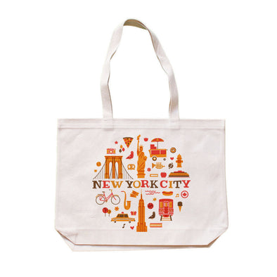 (CHAD GERAN) RETRO NEW YORK TOTE