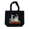 CHICAGO CITYSCAPE TOTE BAG