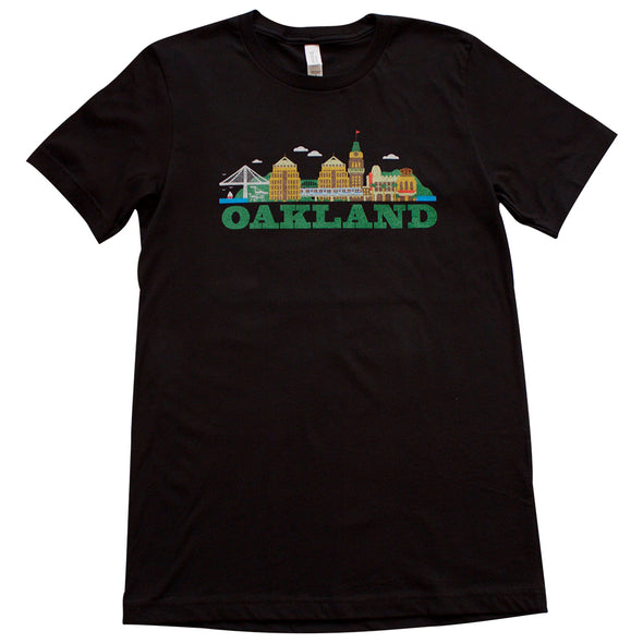 CITYSCAPE OAKLAND MENS SHORT SLEEVE TEE