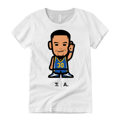 WEMOJI WOMENS SHORT SLEEVE TEE - CURRY #30