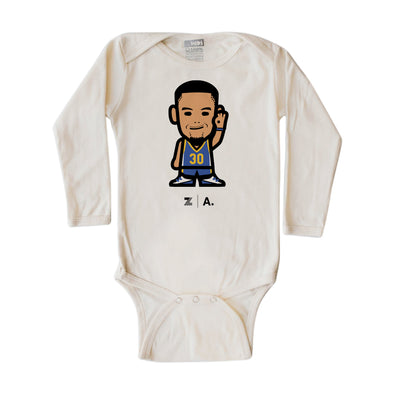 WEMOJI INFANT LONG SLEEVE ONEPIECE - CURRY #30