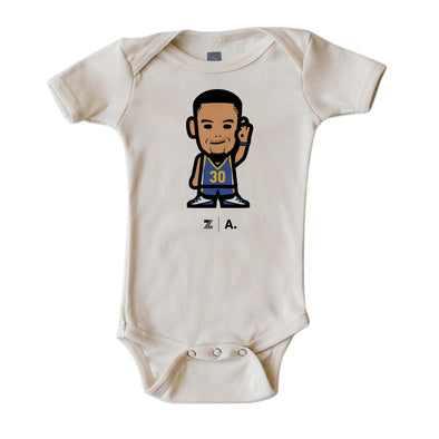 WEMOJI INFANT SHORT SLEEVE ONEPIECE - CURRY #30