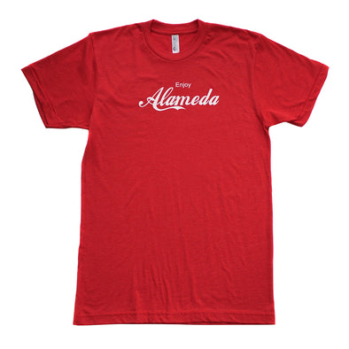 BACKFLOAT ENJOY ALAMEDA ADULT SHORT SLEEVE TEE