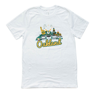 OAKLAND A'S CITYSCAPE MENS SS