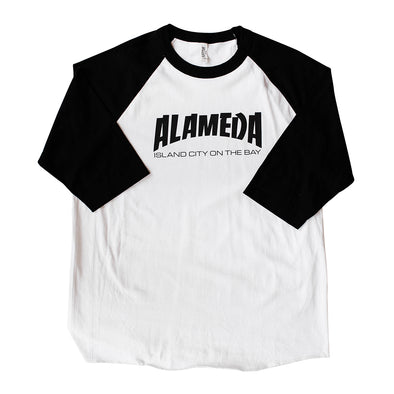 BACKFLOAT - ALAMEDA ISLAND ON THE BAY ADULT L/S RAGLAN