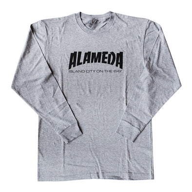 BACKFLOAT - ALAMEDA THRASHER MENS COTTON LONG SLEEVE TEE