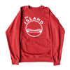 THE ISLAND CREWNECK RAGLAN SWEATSHIRT