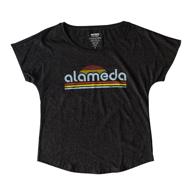 WKND EVERYDAY WOMENS DOLMAN RETRO TEE