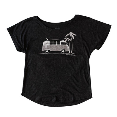 WKND EVERYDAY WOMENS DOLMAN BUS TEE