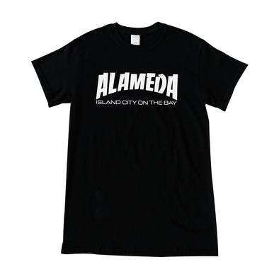BACKFLOAT ADULT TEE SHIRT - ALAMEDA ISLAND CITY ON THE BAY