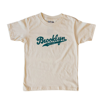 BROOKLYN SCRIPT KIDS SHORT SLEEVE TEE