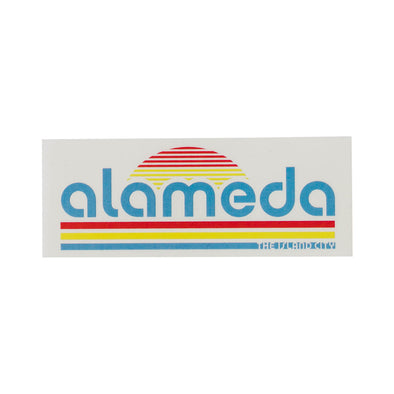 WKND EVERYDAY RETRO ALAMEDA DECAL STICKER