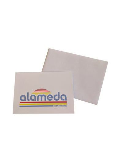 WKND EVERYDAY RETRO ALAMEDA NOTECARD