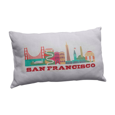 SAN FRANCISCO CITYSCAPE PILLOW