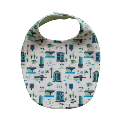 ALAMEDA ALL-OVER PRINT BABY BIB