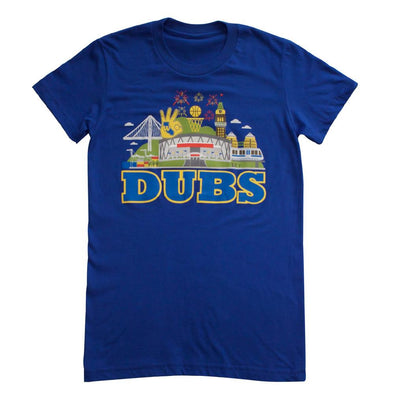 DUBS WOMENS COTTON SHORT SLEEVE TEE