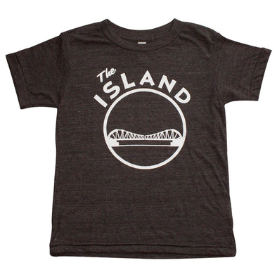 THE ISLAND KIDS BLENDED SHORT SLEEVE TEE