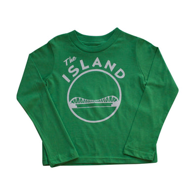 THE ISLAND KIDS COTTON LONG SLEEVE TEE