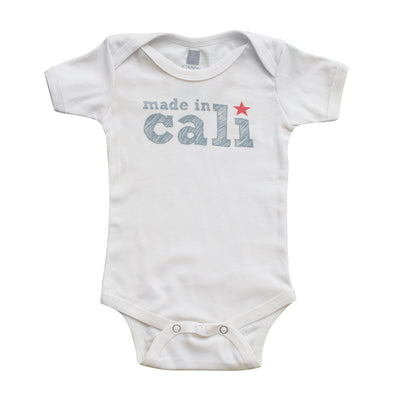 MADE IN CALI KIDS SHORT SLEEVE ONEPIECE
