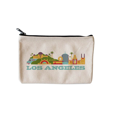 LOS ANGELES CITYSCAPE POUCH