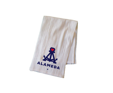 LOVE OUR ISLAND FLOUR SACK KITCHEN TOWEL