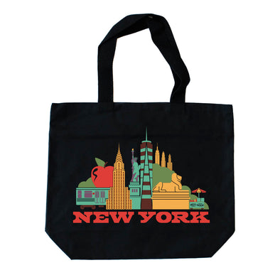 CITYSCAPE NEW YORK TOTE BAG