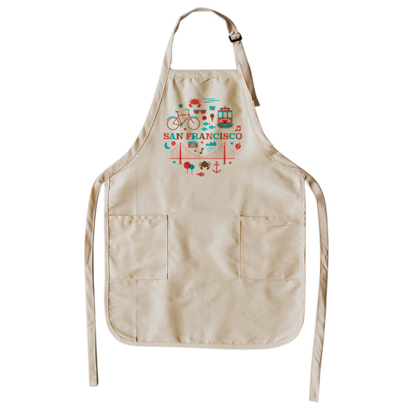 Retro San Francisco Apron