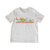 SAN FRANCISCO CITYSCAPE KIDS SHORT SLEEVE TEE