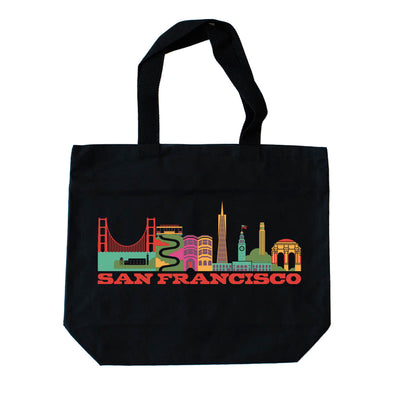 SAN FRANCISCO CITYSCAPE TOTE BAG