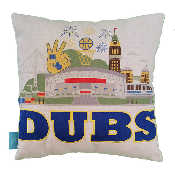Dubs Throw Pillow