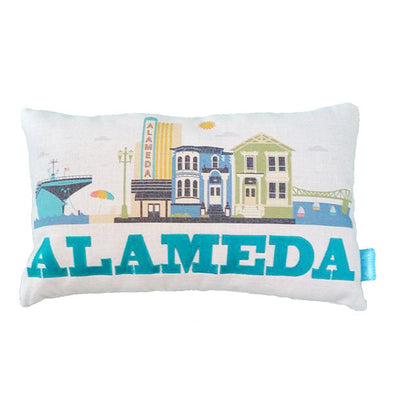 ALAMEDA CITYSCAPE THROW PILLOW