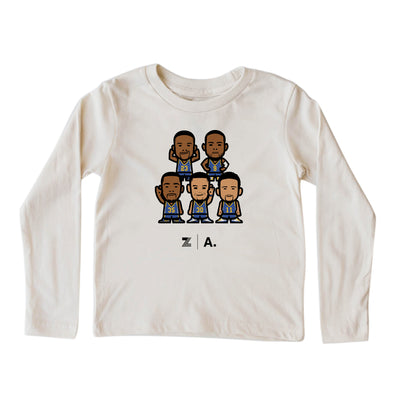 WEMOJI KIDS LONG SLEEVE TEE - TEAM