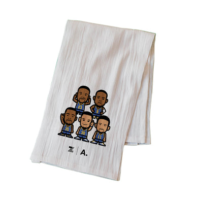 WEMOJI FLOUR SACK KITCHEN TOWEL - TEAM
