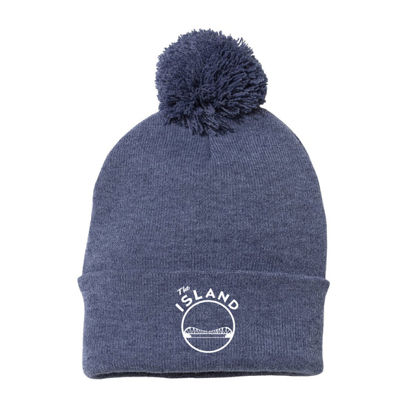 THE ISLAND BEANIE WITH POM