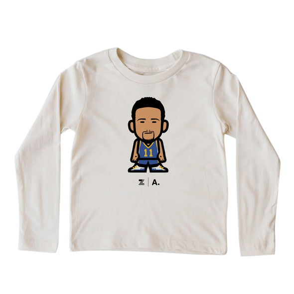 WEMOJI KIDS LONG SLEEVE TEE - THOMPSON #11