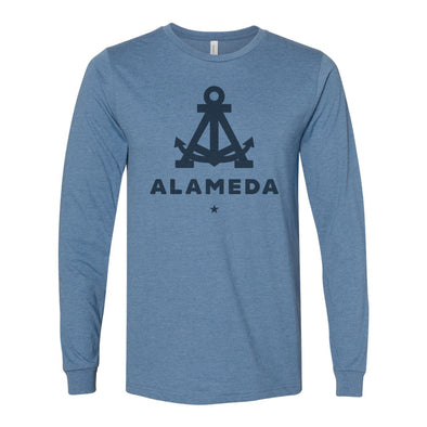 ALAMEDA ANCHOR TONAL MENS LONG SLEEVE
