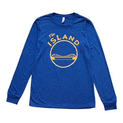 THE ISLAND ADULT LONG SLEEVE TEE