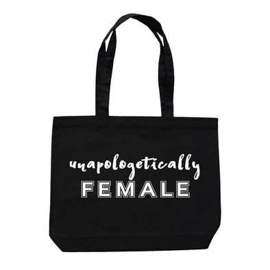 ROAR FOR WOMEN--UNAPOLOGETICALLY FEMALE TOTE