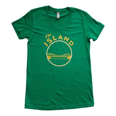 THE ISLAND WOMENS SHORT SLEEVE CREW NECK TEE