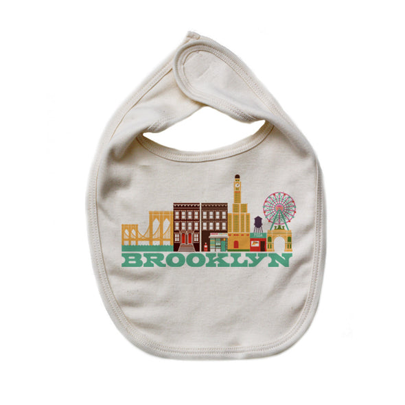 Brooklyn Baby Bib