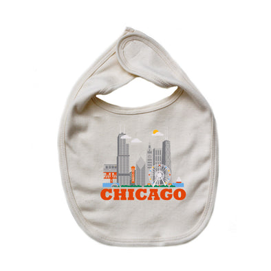 Chicago Baby Bib