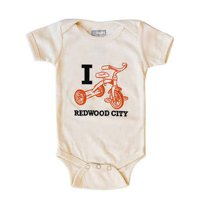 I TRIKE REDWOOD CITY SHORT SLEEVE ONEPIECE