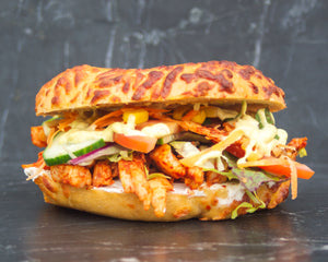 Spicy Chicken Bagel