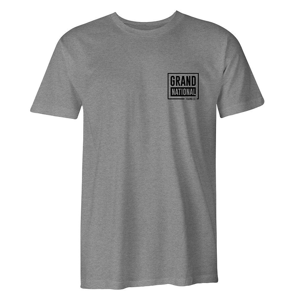 The Basic Tee: Heather Grey